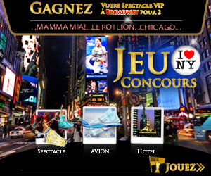 Gagner des places de spectacle VIP  Broadway !
