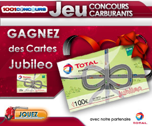 Gagner des cartes TOTAL Jubileo !